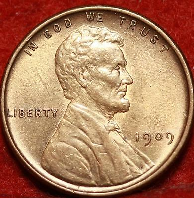 Uncirculated 1909 VDB  Philadelphia Mint Copper Lincoln Wheat Cent Free S/H