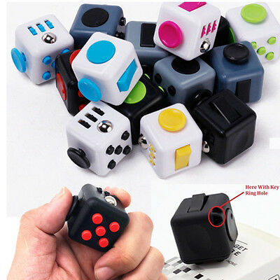 Fidget Cube Desk Toy Stress Anxiety Relief Focus Puzzle Adult Adhd Autism Therpy