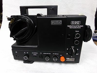 Eumig Super 8Mm Sound Projector Model # S912 Made In Austria Mib