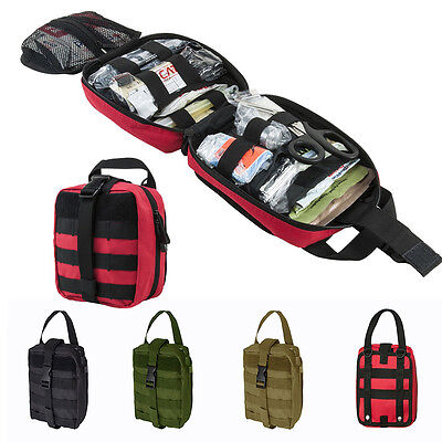 1pcs Tactical Hunting Rip Away EMT MOLLE Utility Medic Bag First Aid Tool Pouch