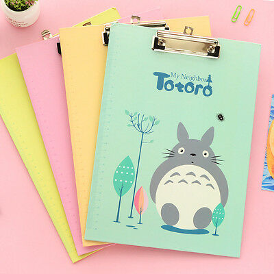 Totoro A4 Clipboard + Pen Holder Clip Board Office File Document Menu Holder