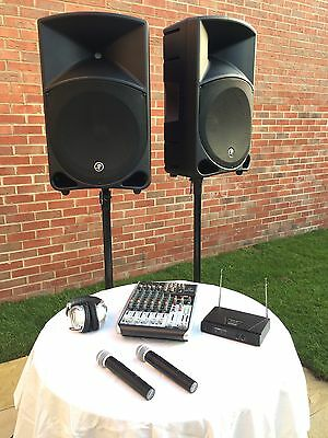 FOR HIRE - PA System - Party, Disco, DJ, Wedding, Engagement, Live, Music