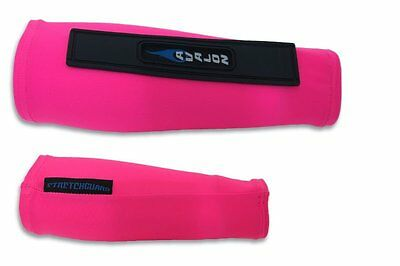 Avalon Archery Stretch Nylon Compression Armguard Arm Guard Bracer Sleeve Pink