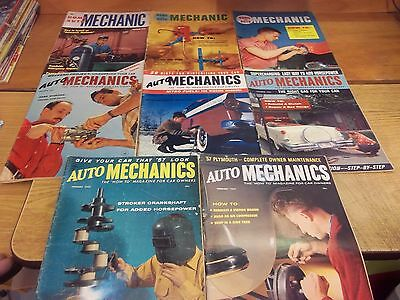 ## Home Auto Mechanic lot of 8 from the 1950's