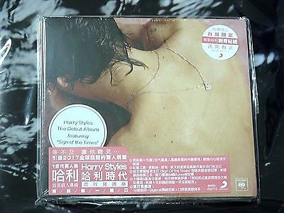Harry Styles One Direction Debut Album Digipak + Taiwan Stickers + Poster #A10