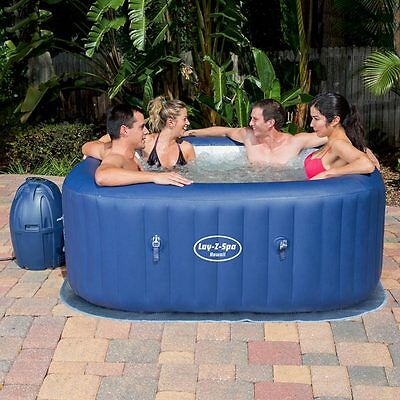 Bestway Lay-Z-Spa Hawaii Airjet Portable Inflatable Hot Tub BW54154
