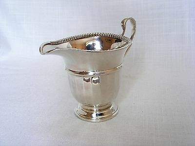 Solid Silver Cream / Milk Jug – Birmingham 1932 by Adie Brothers Ltd.