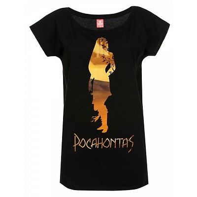Pocahontas Ladies T-Shirt In The Woods Taglia M