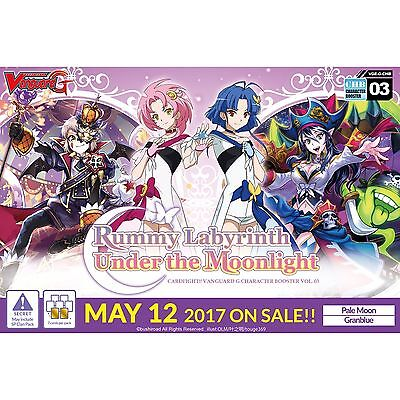 Cardfight Vanguard TCG Rummy Labyrinth Under the Moonlight Character Boosters...