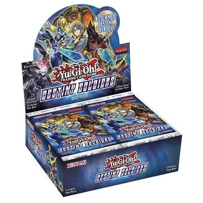 Yu-Gi-Oh! TCG Destiny Soldiers Trading Card Booster Box (24 packs) - Brand New!