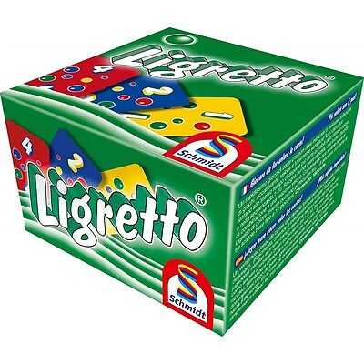 Schmidt Ligretto Green Edition Card Game - Brand New!