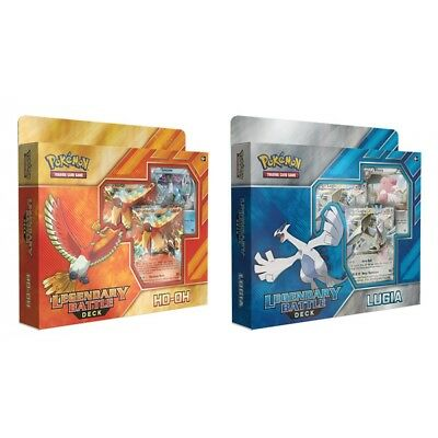 Pokemon TCG Ho-Oh EX and Lugia EX Legendary Battle Deck - Brand New!