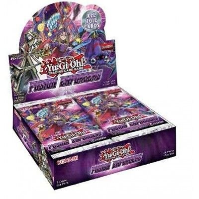 Yu-Gi-Oh! TCG Fusion Enforcers Booster Box (24 Packs) - Brand New!