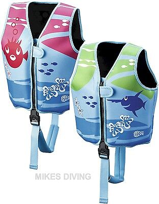 BECO Sealife - kids Swim Training Float Jacket swimming vest aid childs