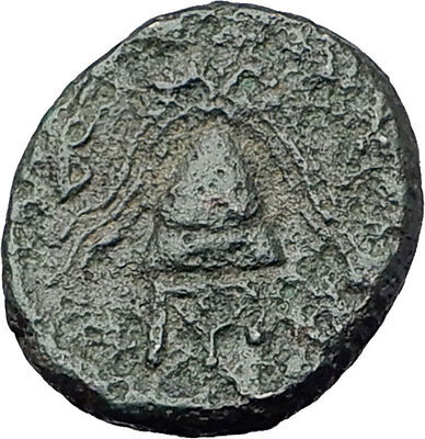 ALEXANDER III the Great 325BC Macedonia Ancient Greek Coin SHIELD HELMET i61370