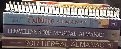 New! Lot #1 (4) 2017 Metaphysical Books Magic Astrology Wicca Herbs $46 Ret.