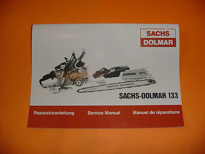 dolmar chainsaw service manual ps 6400 ps 7300 ps 7900 7 99 rh picclick com Sachs Dolmar 111 Chainsaw Parts Sachs Dolmar 120 Super