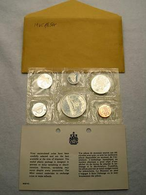 1965 Canada Proof-Like Silver 6-Coin Mint Set (65D)