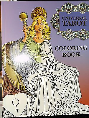 Sealed Brand New! Universal Tarot Coloring Book 56 Images On High Quality Paper