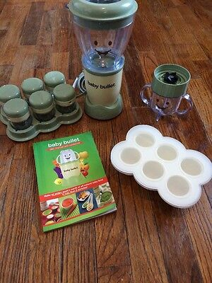 Magic Bullet Baby Bullet Food Making System With storage