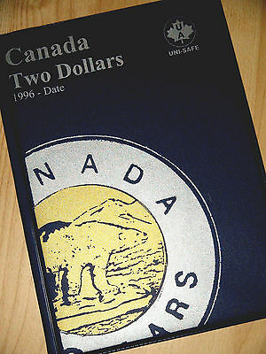 COLLECTION of Canada TWO DOLLARS Coins (1996-2017) - Canadian TOONIES SET - $2