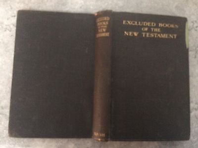 Excluded Books of the New Testament HB 1927