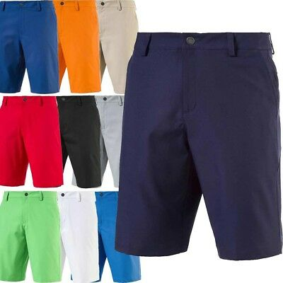 NEW Puma Essential Pounce Solid Mens Golf Shorts - Pick Size - 10 Colors NWT