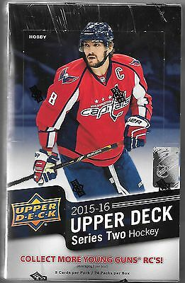 2015-16 Upper Deck Series Two Hobby Box Sealed