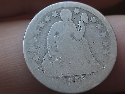 1859 P Seated Liberty Dime- Scarce Date