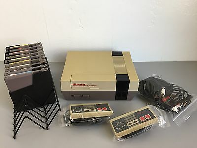 Nintendo NES 1985 Classic Game Console With 9 Games