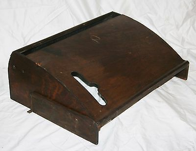 Antique Singer Treadle Sewing Machine Cabinet Under Cabinet Dust Cover