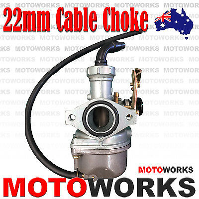PZ 22mm Cable Choke Carburetor Carby 90cc 110CC ATV QUAD Dirt Bike Gokart Buggy