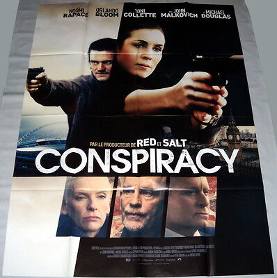 UNLOCKED Noomi Rapace CIA Orlando Bloom Michael Douglas LARGE French POSTER