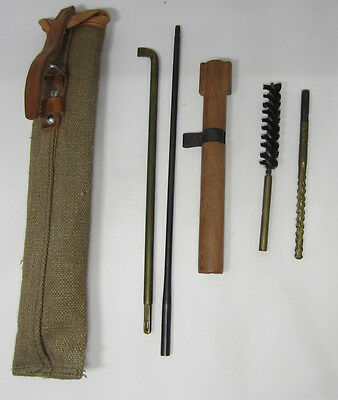 Wwii Japanese Type 99 Arisaka Rifle Cleaning Kit With Pouch Complete