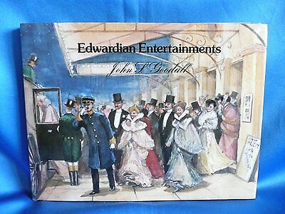 John S Goodall Book Edwardian Entertainments Hb/dj First Edition 1981