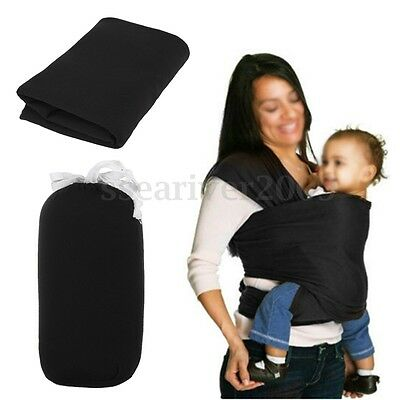 Baby Sling Stretchy Infant Newborn Baby Wrap Carrier Sling Cotton Top Breastfeed