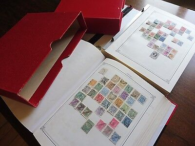 £££ Collection timbres old  stamps en 2 volumes HIGH CV - 586 pictures