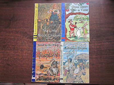 4 x Endeavour Reading Programme Vintage Reader Books 3b,6a,8a  SAVED BY THE WIND