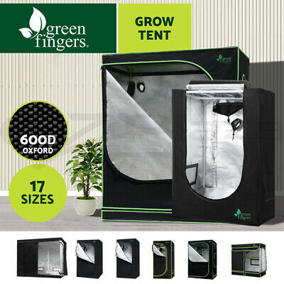 Greenfingers Hydroponic Grow Tent Kit Reflective Indoor System 600D Oxford Cloth