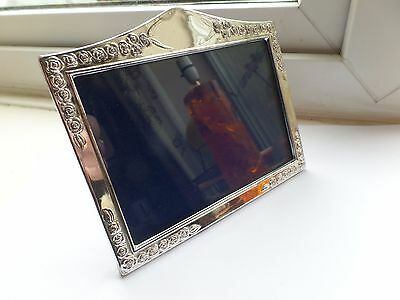 Attractive Hallmarked Solid Silver Photo Photograph Frame 1992