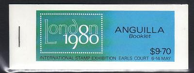 ANGUILLA 1979 LONDON INT STAMP EXH (1st ISSUE) U/M BOOKLET