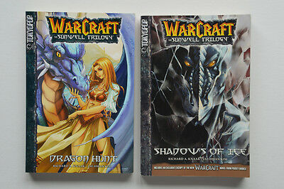 Warcraft Dragon Hunt 1 & Shadows Of Ice 2 Graphic Novels