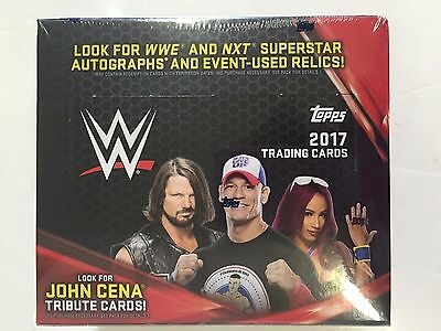2017 Topps Wwe Retail Box ( Look For John Cena Tribute Cards ! )
