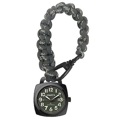 Dakota Survival Pocket Watch w/ Paracord Strap 3883-9