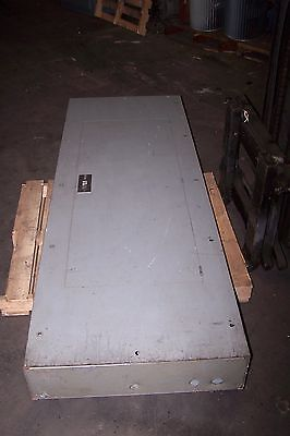 Square D 400 Amp Main Breaker I-Line Panelboard 277/480 Vac 54 Circuit 3 Phase