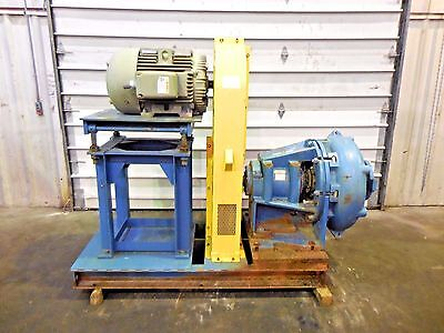 "RX-3619, METSO HM200 FHC-D 8"" x 6"" SLURRY PUMP W/ 50HP MOTOR AND FRAME"