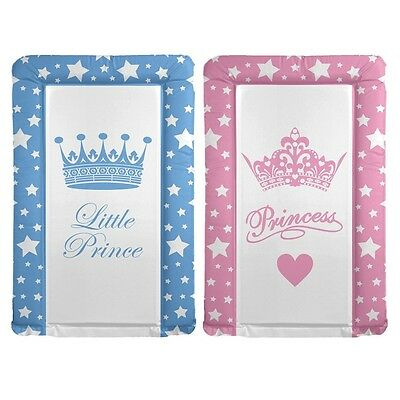 Baby Changing Mats Little Princess Pink/little Prince Blue Designs - Brand New