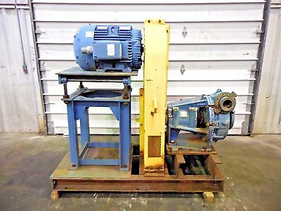 "RX-3621, METSO HM150 FHC-D 6"" x 4"" SLURRY PUMP W/ 75HP MOTOR AND FRAME"