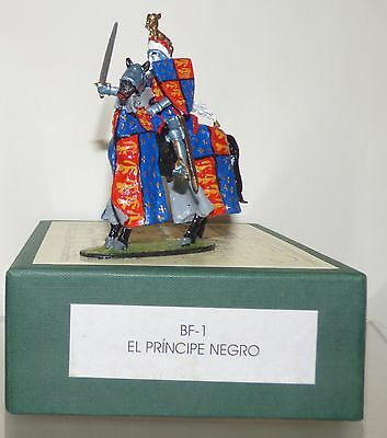 AB02 - Alymer Banners Forward-Mounted Knight - The Black Prince