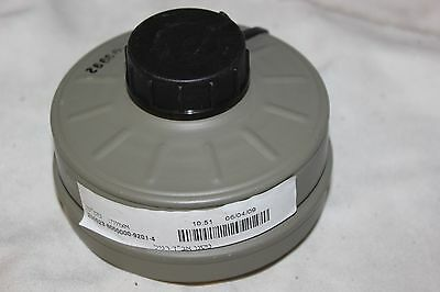 NEW Sealed Genuine Military Premium Israeli NATO NBC 40mm Gas Mask Filter NEW